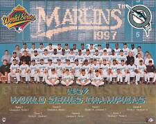 Florida Marlins 1997 World Series Championship Picture Plaque (Formal Team Pose)