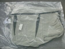 Saab 9-5 taupe leather left rear seat bottom cover
