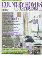 COUNTRY HOMES & INTERIORS MAGAZINE April 2005 Fresh Inspiration AL