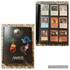 Magic The Gathering Deckmaster Vintage Cards Book #1 Lot 1990's Playing Trading