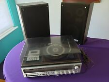 Vintage Zenith model 4041 Integrated Stereo System, record player, cassette more