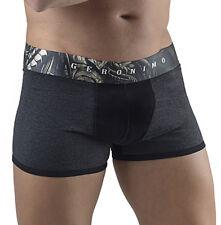 Geronimo Mens Underwear Graphite Boxer Sports Short Cotton Hipster