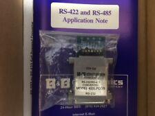 NEW* B&B ELECTRONICS 422LPCOR CONVERTER RS-232/RS-422