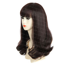 Wiwigs Fabulous Long Wavy Auburn & Brown Mix Skin Top Ladies Wig