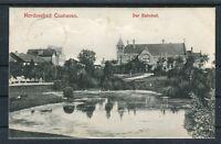 Ansichtskarte Nordseebad Cuxhaven Der Bahnhof - 01592