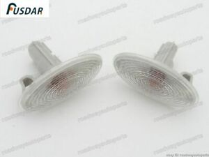 2x Side Marker Turn Signal Lamp Fender Light For Subaru Forester 2011-2013