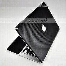 Black Carbon Fiber Skin Film Cover Guard Protector for Old MacBook Pro 15 A1286
