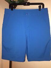 Men's PUMA GOLF DOUBLE WOVEN TECH SHORTS SZ 33 - STYLE 568251 CAPRI BLUE