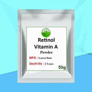 Retinol Vitamin A Powder Retinoic Acid Anti Wrinkle & Anti Aging Antioxidants