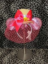 Disney Minnie Mouse The Main Attraction Ears Headband Mad Tea Party *In Hand*