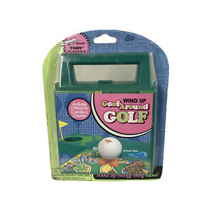 Tomy Wind Up Goof Around Golf Toy Travel Game 2006 Ages 5+ Brand New