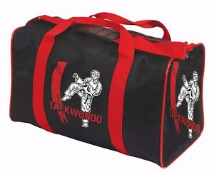 Taekwondo Bag Holdall Kids Adults Martial Arts TKD Training Gym Kit Bag Gift