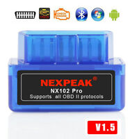 2020 Mini Auto Car ELM327 OBD2 ODBII CAN Bluetooth Scanner Tool Torque Android