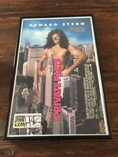 HOWARD STERN SIGNED AUTOGRAPHED FRAMED PRIVATE PARTS MOVIE POSTER 34/250 RARE