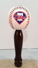Philadelphia Phillies  KEGERATOR BEER TAP HANDLE MLB Pub Style Baseball Cherry