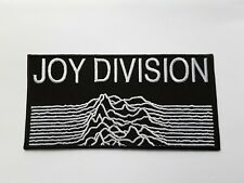 Joy Division Patch Sew or Iron On