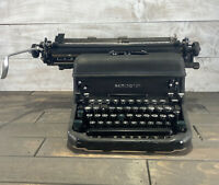 Vintage 1939 Remington Rand Typewriter Model 17 KMC Serial J1149140 Antique