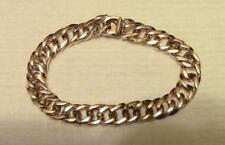14K Solid Gold Heavy Link Bracelet Weighs approx. 29.6 Grams Scrap or Not!