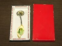 VINTAGE OLD CAR KEY CHAIN PLASTIC METAL SEA HORSE NEW IN BOX