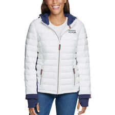 TOMMY HILFIGER Ladies Hooded Jacket Women's Puffer Coat New! S-XL
