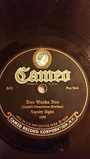 """Varsity Eight """"Doo Wacka Doo"""" 1924 Cameo Records 641 Jazz 78"""