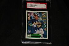 YOENIS CESPEDES 2012 TOPPS ROOKIE SIGNED AUTOGRAPH CARD #396 METS SGC AUTHENTIC