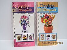 Candy and Cookie Bouquets by Delicious Designs Lot of 2