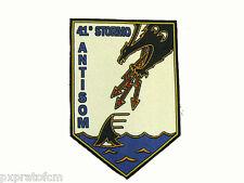 Patch 41° Stormo AntiSom Aeronautica Militare Italiana Toppa Stemma Stampata