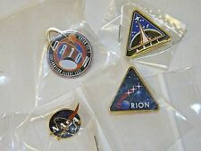 New Pins NASa, Orion, & Ares