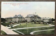 Antique CORNELL UNIVERSITY College of Architecture MINIATURE Postcard ITHACA NY