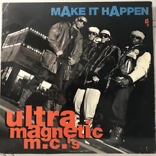 "ULTRAMAGNETIC MCs - MAKE IT HAPPEN (12"")  1991!!  RARE!!  KOOL KEITH + CED GEE!!"