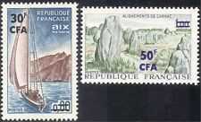 Reunion 1965 Yacht/sailing/Boats/Sport/Standing Stones/Tourism/History 2v n44271