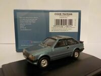 Ford Escort xr3i, Blue, Oxford Diecast 1/76 New Dublo, Railway Scale