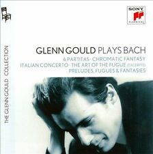 Glenn Gould Plays Bach: 6 Partitas; Chromatic Fantasy; Italian Concerto; Etc. (CD, Sep-2012, 4 Discs, Sony Classical)