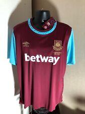 West Ham United Boleyn Ground Home Shirt Jersey 2015/16 X-Large BNWT