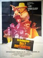 Cartel Cine Western El Paseo Des 7 Mercenarios - 120 X 160CM