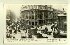 pp1337 - London - Princes Street - Guildhall Library  - Pamlin postcard
