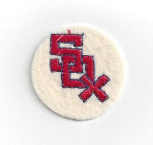 "1960's Chicago White Sox patch 2"" felt vintage old logo"