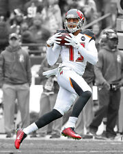 Tampa Bay Buccaneers MIKE EVANS Glossy 8x10 Photo Spotlight Print NFL Poster