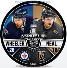 James Neal vs Blake Wheeler 2018 NHL Playoffs Dueling  Matchup Hockey Puck