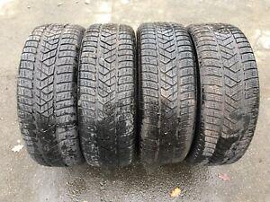 4 x Pirelli Scorpion Winterreifen 225/55 R19 99H M+S (passend für: 225/55R19)
