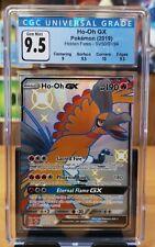 Pokemon Ho-oh GX - SV50/SV94 Hidden Fates CGC 9.5 Gem Mint 9/ 9.5/ 10/ 9.5