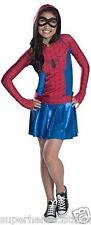 The Amazing Spider-Man Spider-Girl Costume Size Medium 8-10 NWT 610232 Rubies