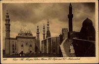 Kairo Cairo Ägypten Egypt ~1910 Musque Sultan Hassan Moschee Vintage Postcard