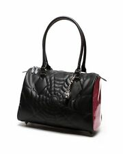 Lux De Ville Black Widow Large Tote Pink Bubbly Sparkle Handbag Purse BWL111BPB