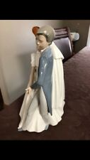 Lladro Wedding Couple Glazed Porceline Figurine. Pristine Condition!