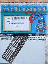 Eduard 1/48 FE827 Color Acero Grabado Segunda Guerra Mundial japaneses Ejército aviones cinturones de seguridad