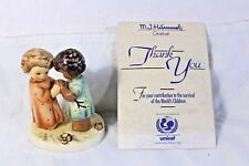 "Charming Unicef Goebel Mi Hummel figurine ""Friends Together"" Hum 662/0 Nib"