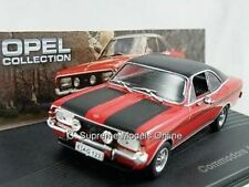 OPEL COMMODORE A COUPE GS/E CAR MODEL 1/43 1970-1971 RED/BLACK ISSUE K9786Q -+-