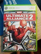 Marvel: Ultimate Alliance 2 (Microsoft Xbox 360, 2009) complete